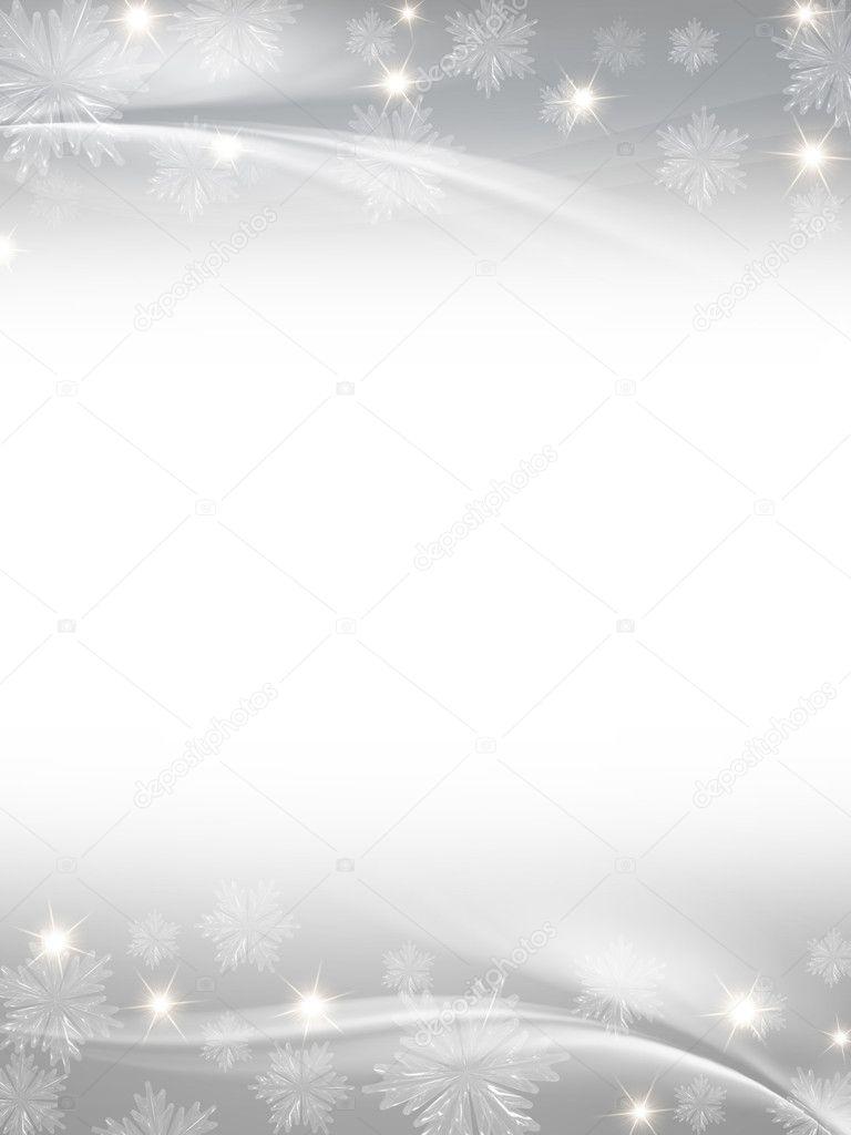 White grey christmas background