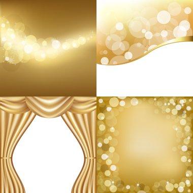 Golden Backgrounds