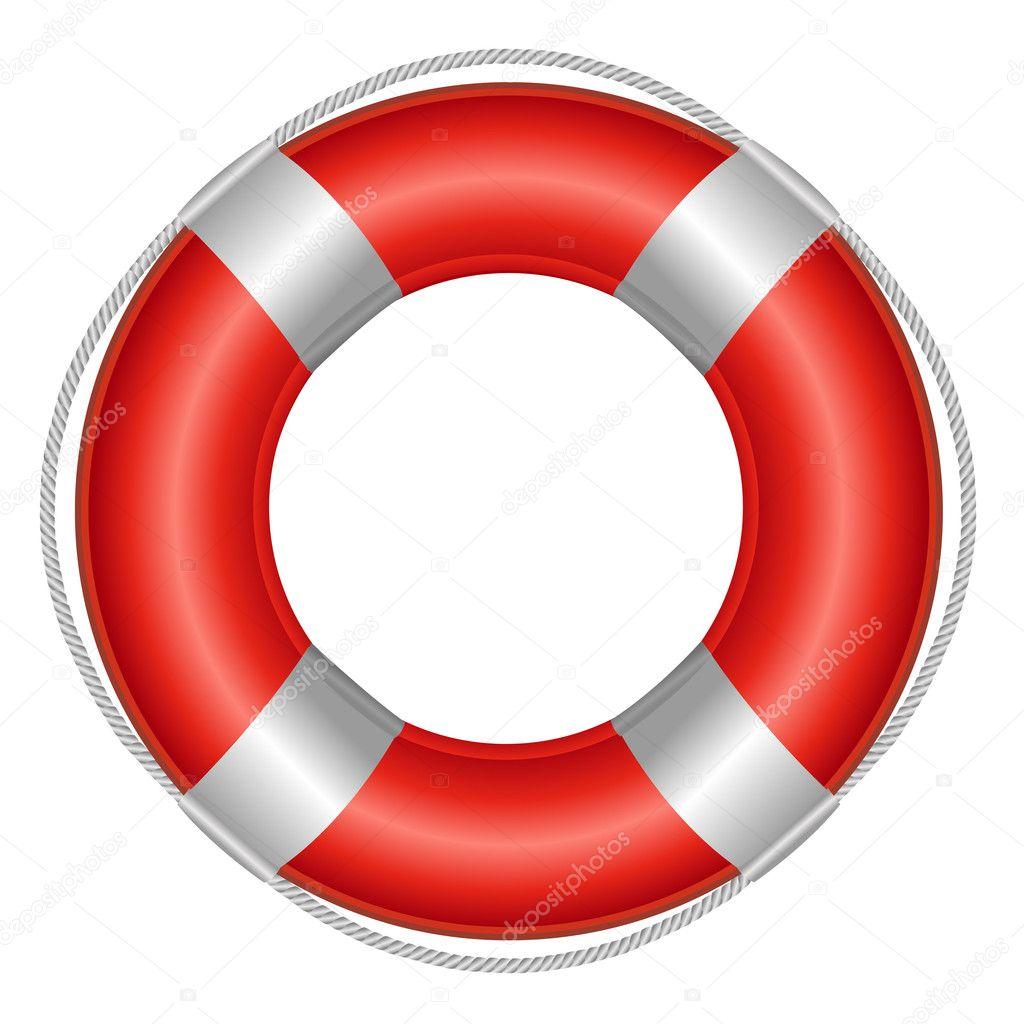 救命浮き輪 ストックベクター Adamson 5183661