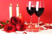 Romantisches Abendessen für zwei Stillleben