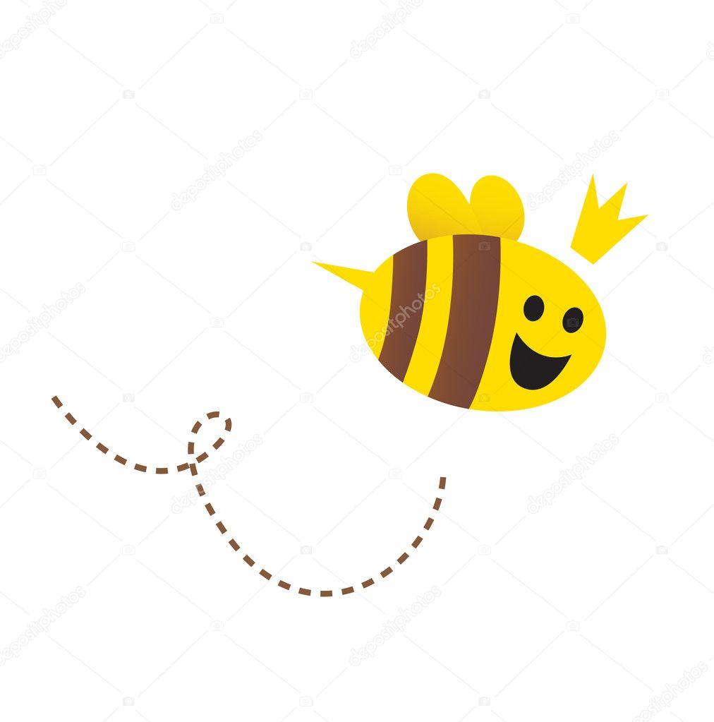 Cartoon Queen Bee Stock Photos amp Pictures Royalty Free