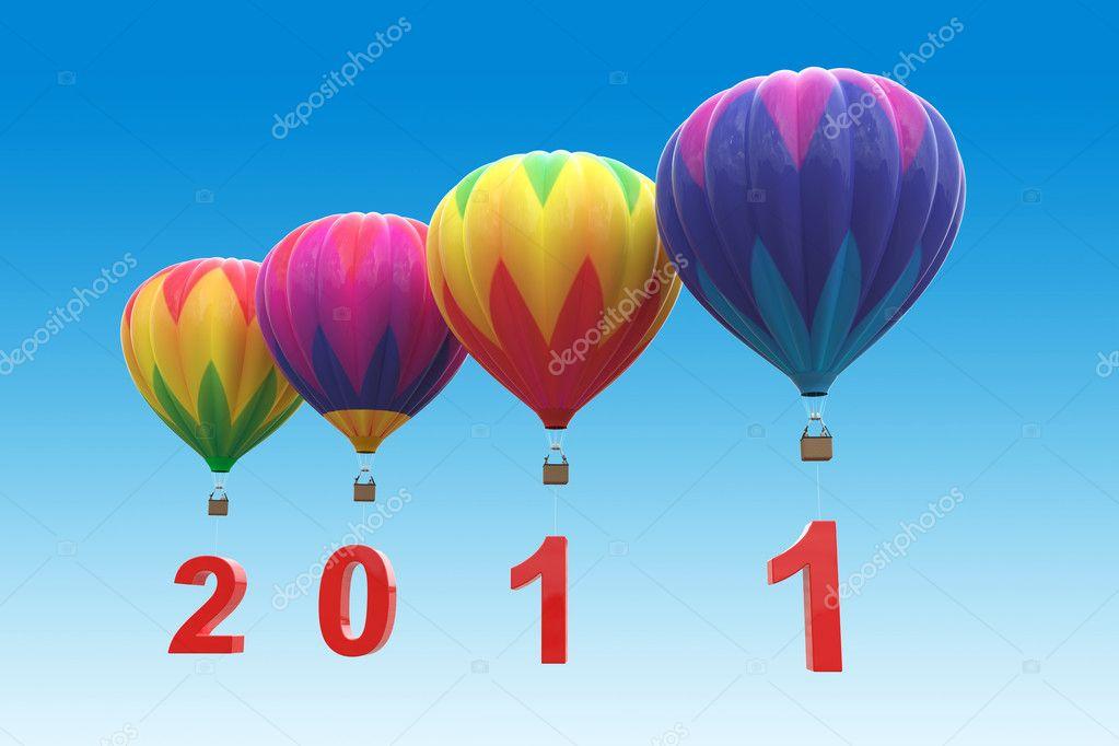 Hot air balloons 2011