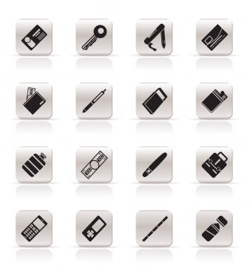 Simple Vector Object Icons