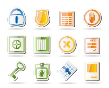 Simple Security and Business icons