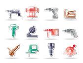 Stavební nástroje ikony