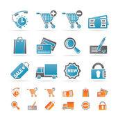 Fotografie Internet ikony pro internetový obchod