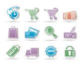Internet ikony pro internetový obchod