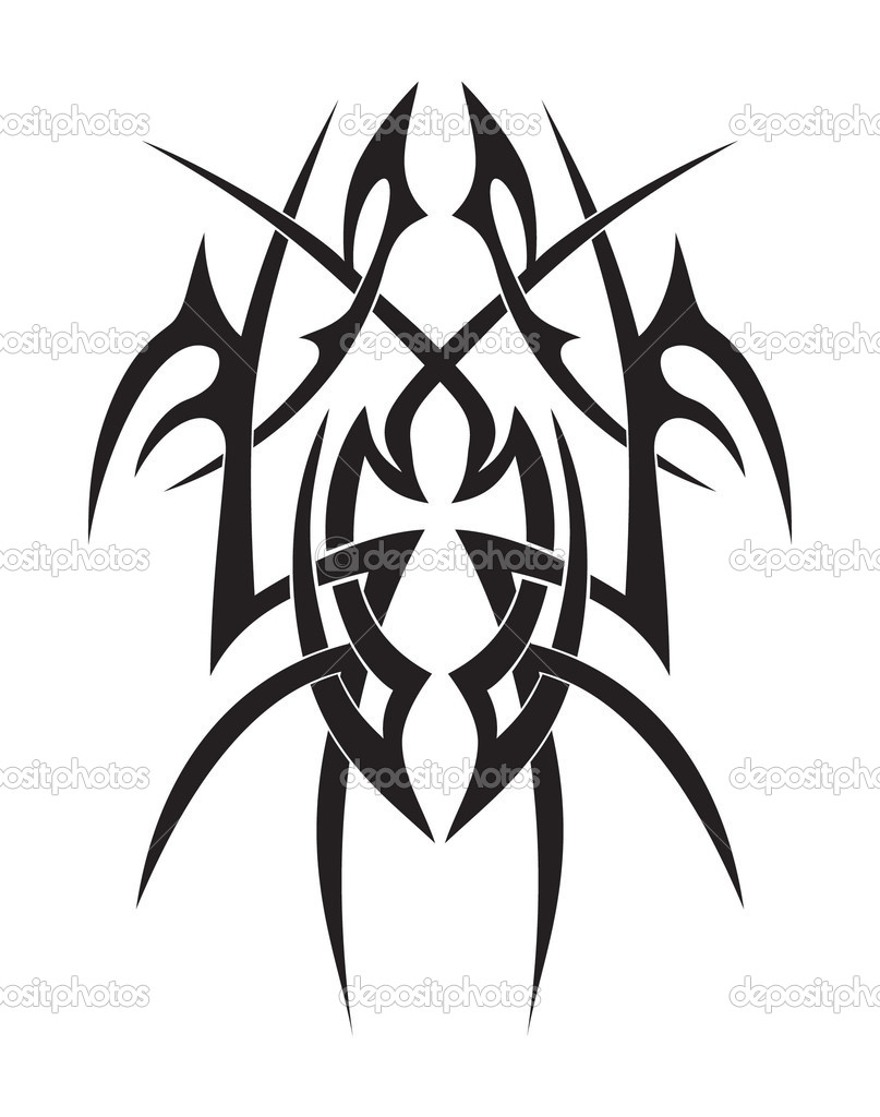 Stammes Ankh Stockvektor Violainc 4570192