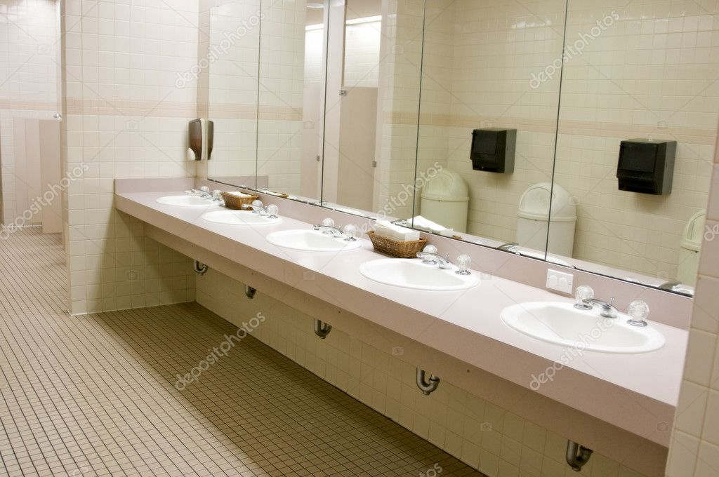 Public Bathroom Sink public bathroom — stock photo © jcpjr1111 #4327776