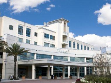 Modern Hospital Entrance