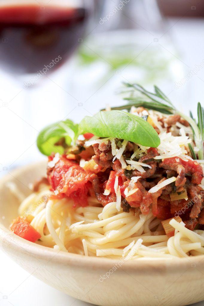 Spaghetti And Ragu Alla Bolognese Stock Photo C Ajafoto 4386212
