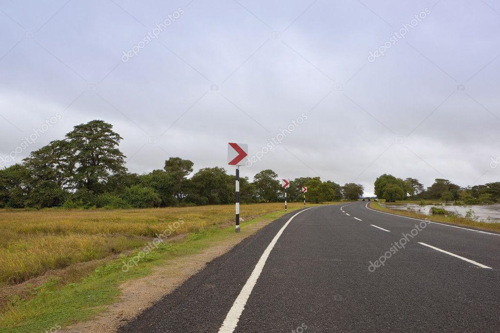 Sri lankan highway — Stock Photo © emjaysmith #4969200