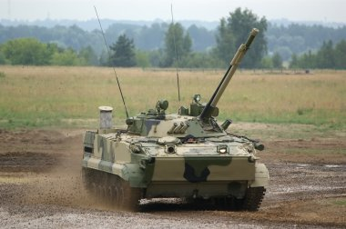 Modern heavy tank of the Armed Forces of Russia