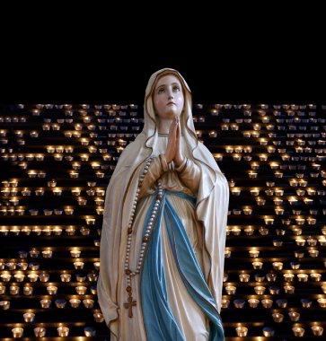 Mary (mother of Jesus). Church of St. Eufemia (Euphemia), Rovinj, Croatia