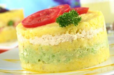 Peruvian Dish Called Causa