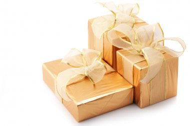 Gold foil gifts
