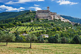 Fotografie View of Assisi old city, Umbria, Italy
