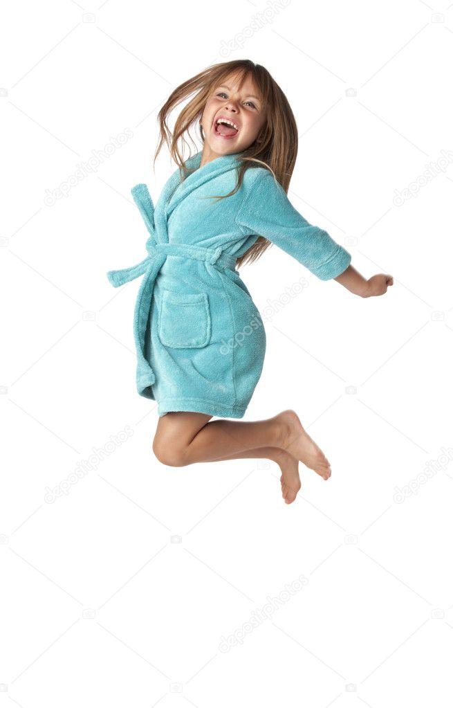 little girl jump for joy � stock photo 169 mrpants 4223558