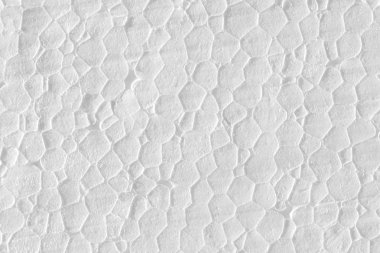 Abstract styrofoam texture