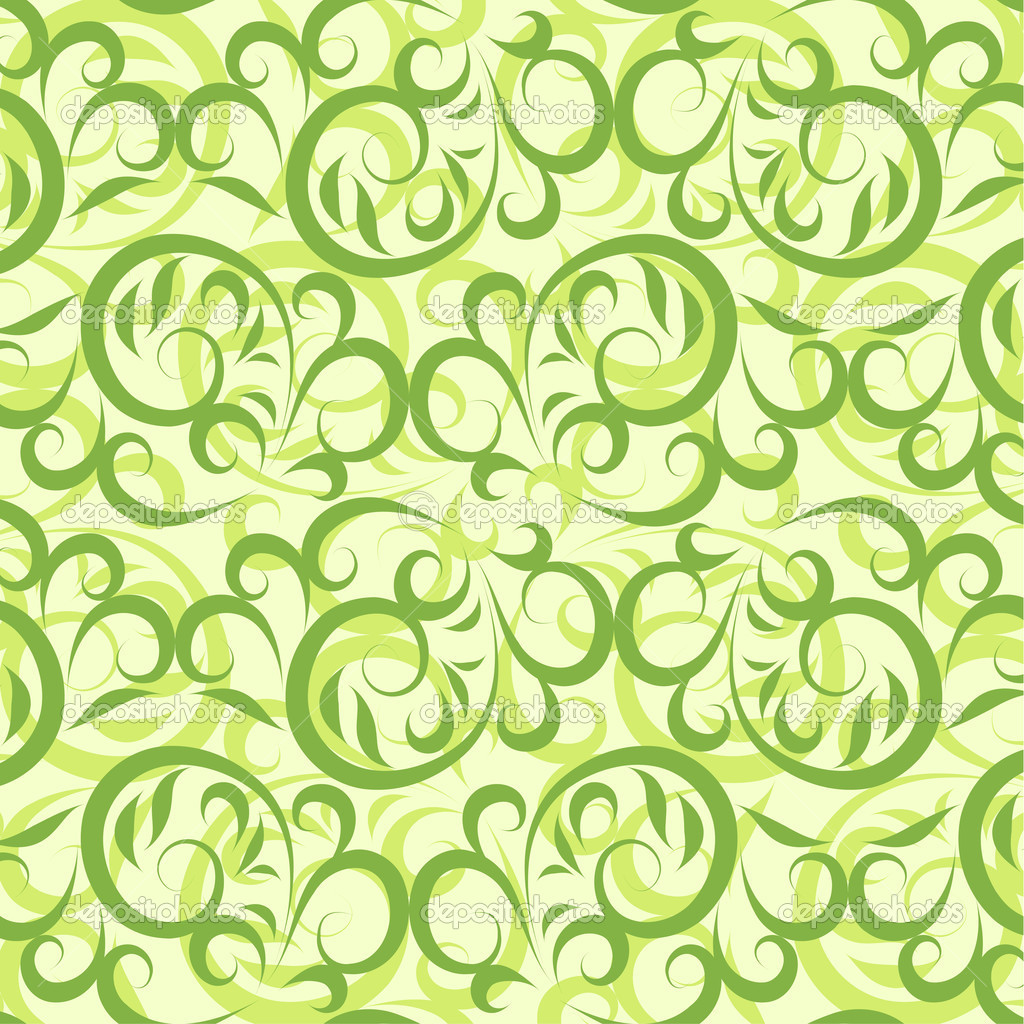 Lace green background