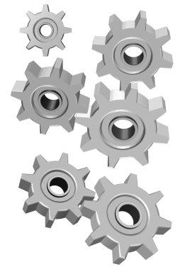 3d Cogwheel illustration