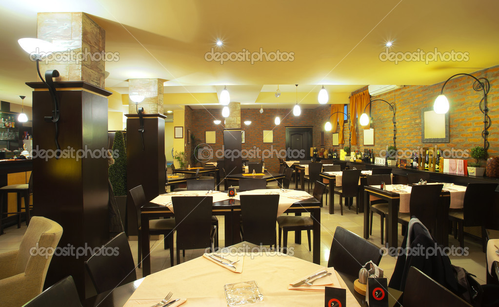restaurant interieur — Stockfoto © krsmanovic #5040924