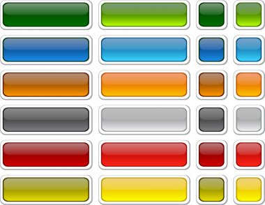 Web blank buttons.