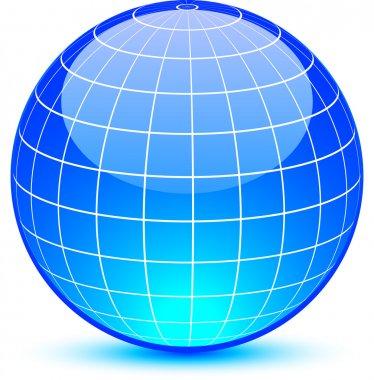 Abstract globe.