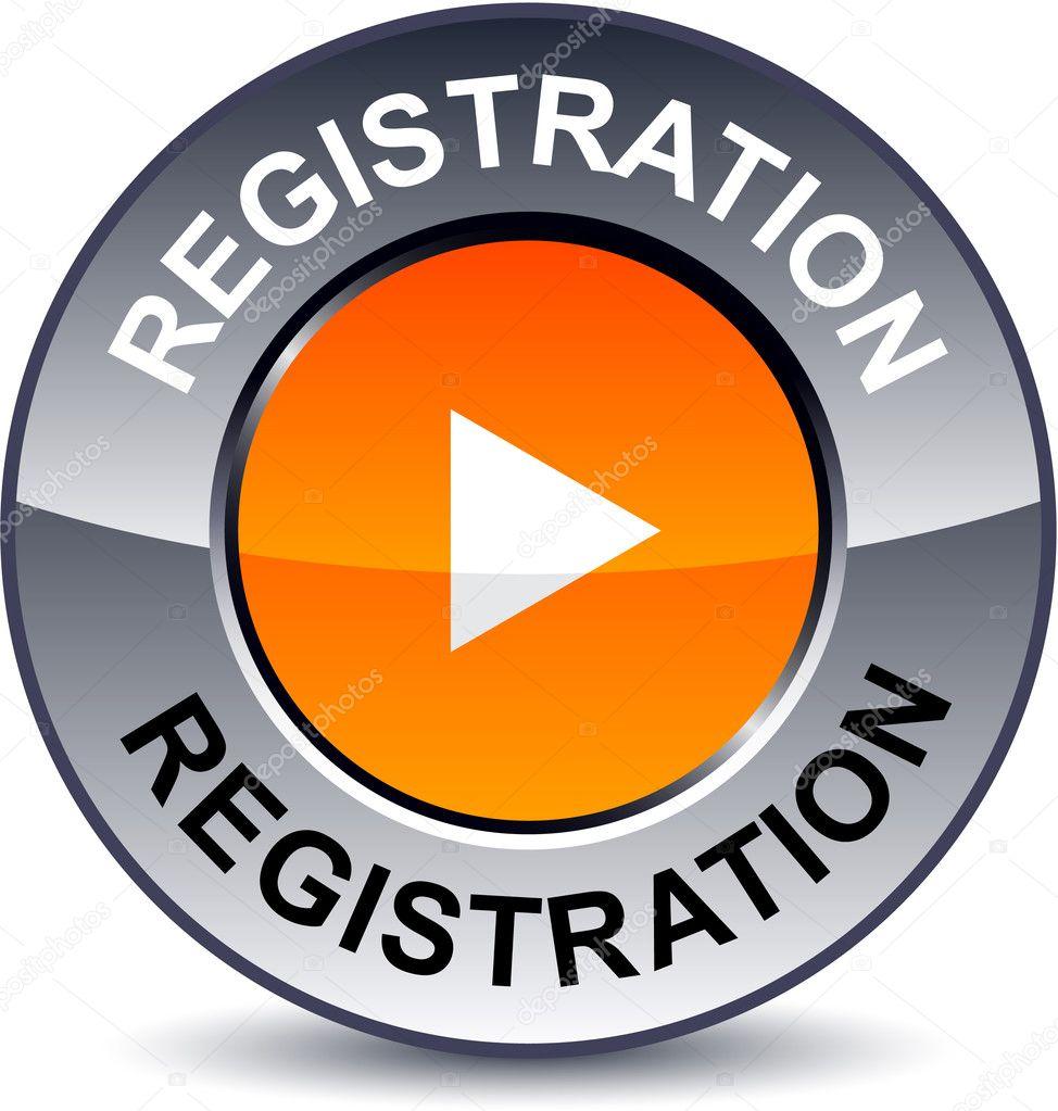 Registration round button.
