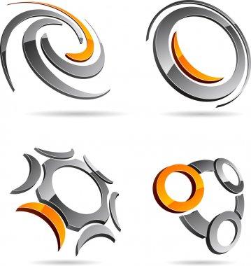 Set of abstract symbols.