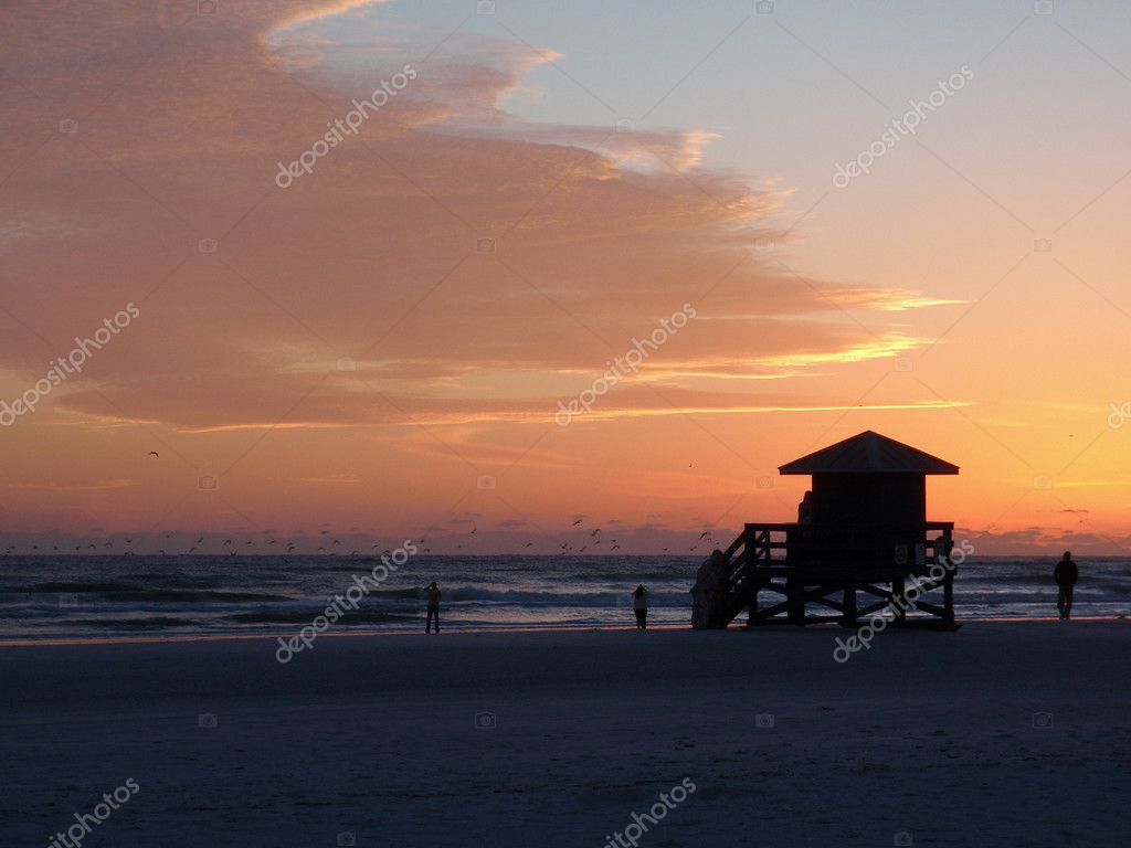 Siesta Keys beach sunset