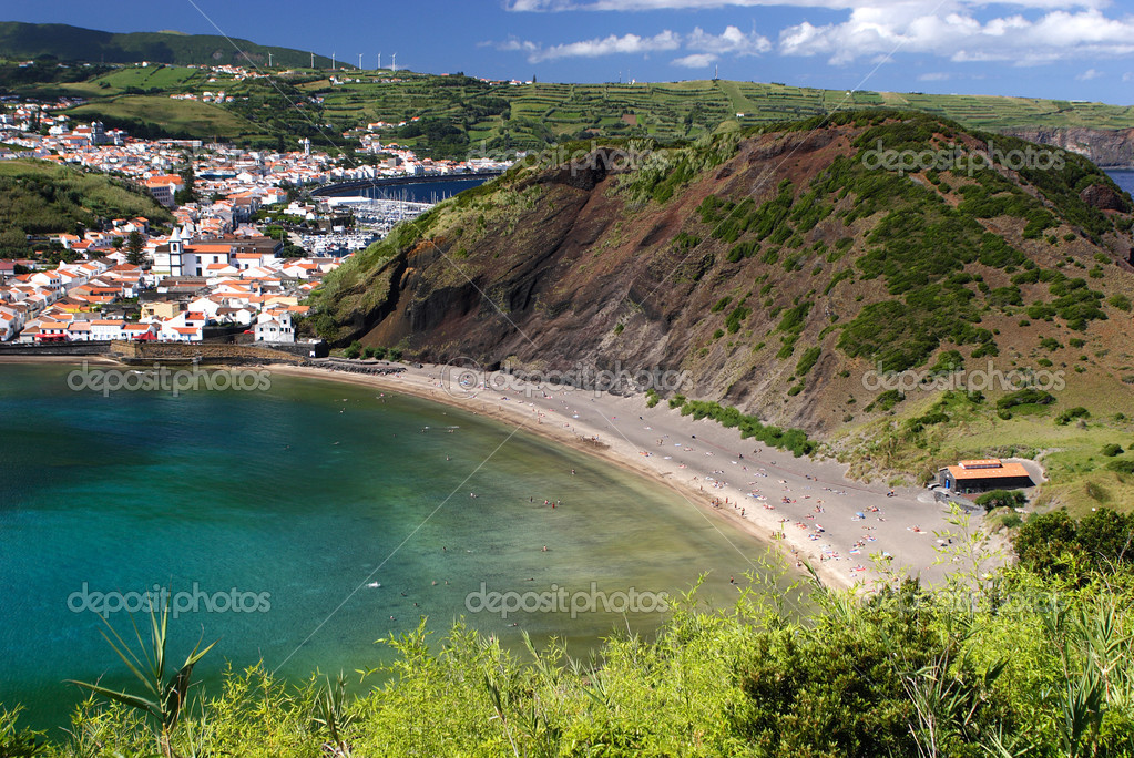 Porto Pim beach