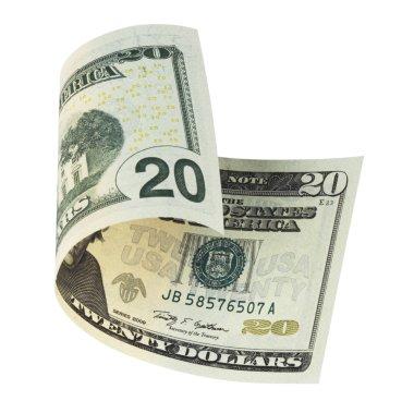 Twenty dollar banknote