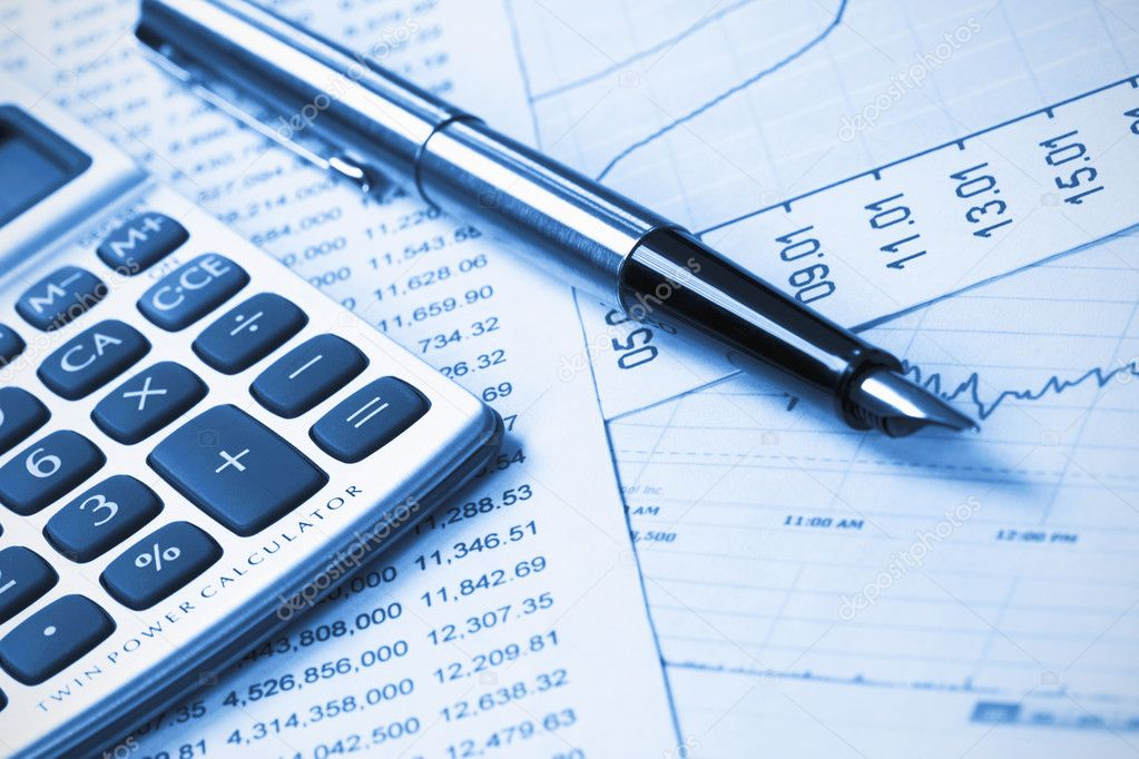 Accounting,dual tone — Stock Photo © homiel #4448544