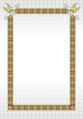Vector Christian frame