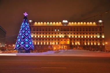Christmas Tree on Lubyanka