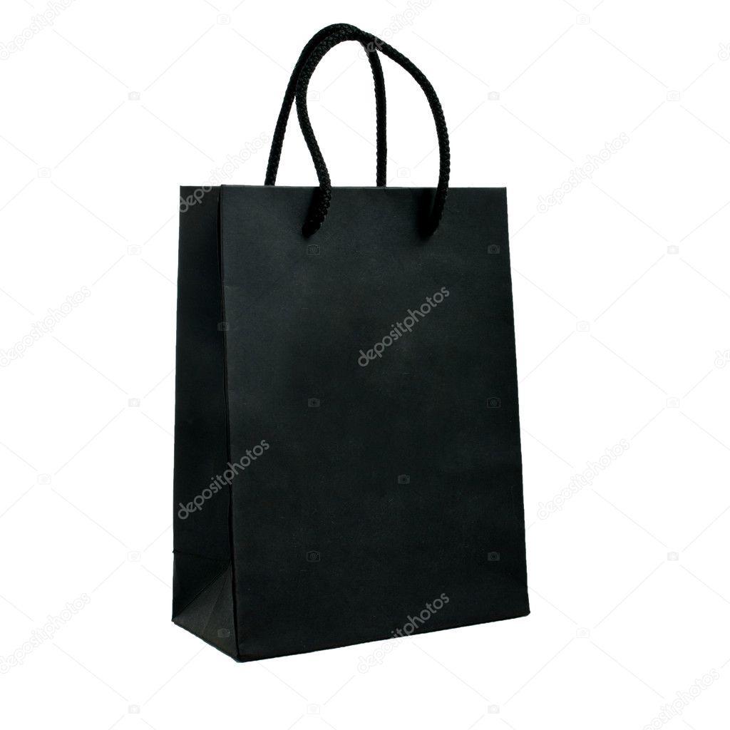 sac en papier noir photographie dudaeva 4828167. Black Bedroom Furniture Sets. Home Design Ideas