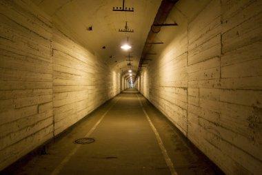 Submarine bunker.