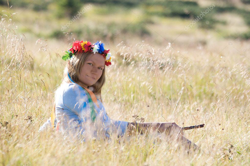 National Ukraine girl.