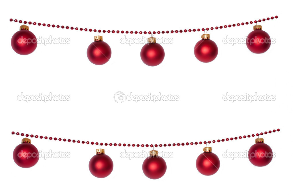 Christmas Ball Garlands.Christmas Ball Garlands