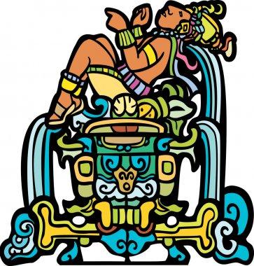Reclining Mayan