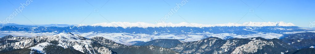Carpathian panorama
