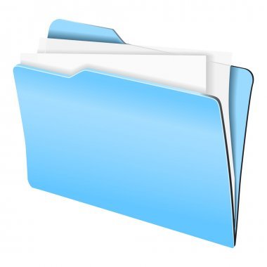 Folder with sheets