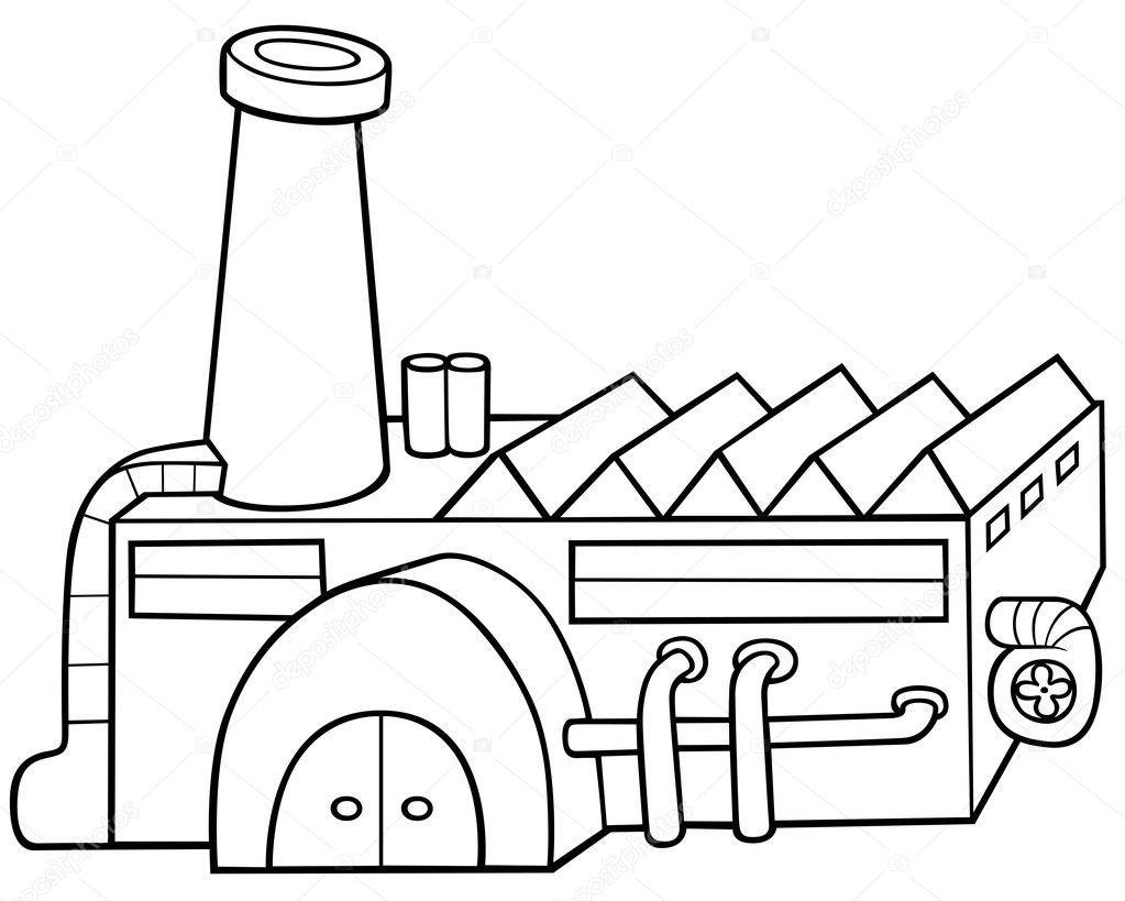 Vector Drawing Lines Html : Factory — stock vector dero