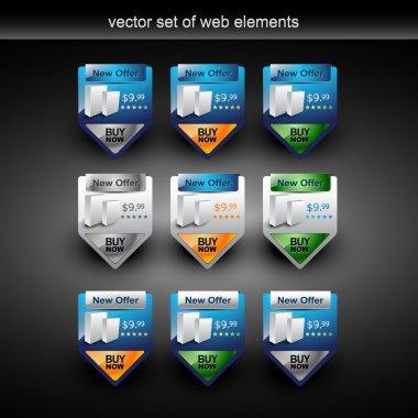 Product sale web element