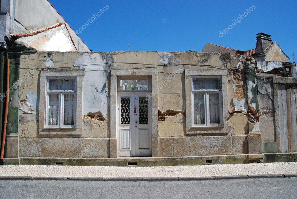 Oude huis gevel u stockfoto homydesign