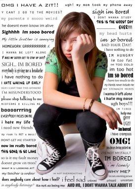 Unhappy Girl