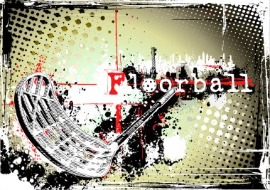 Floorball poster