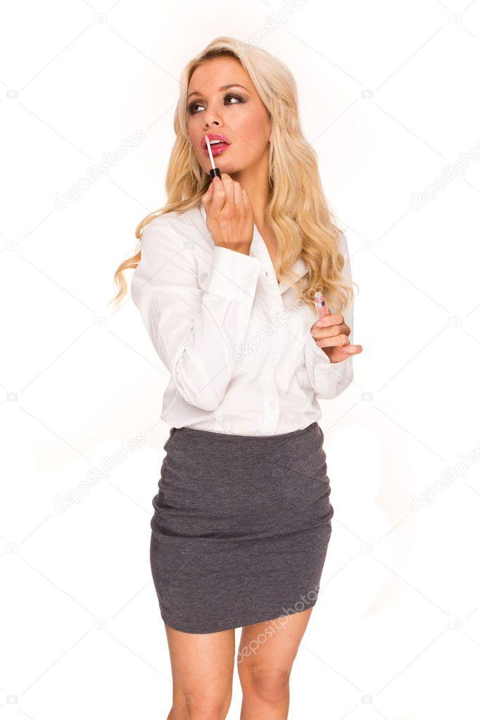 Бизнес леди блондинка фото