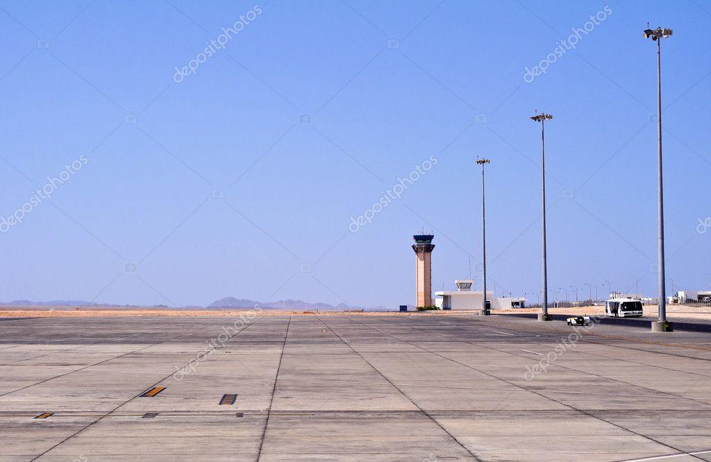 Flughafen In Marsa Alam ägypten Stockfoto Fer737ng 3950626